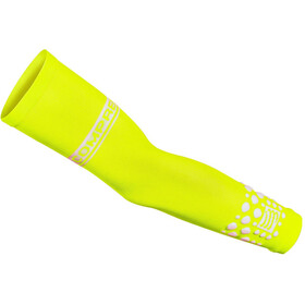 Compressport ArmForce Manchettes, fluo yellow